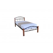 Bed Alice Lux Wood Single
