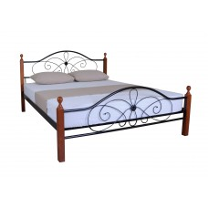 Bed Felicia Wood Double